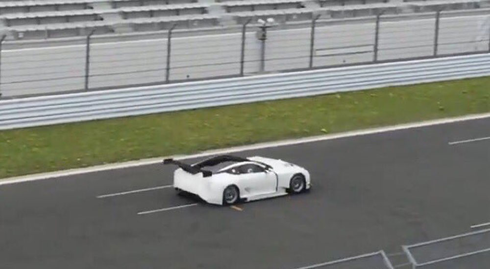 Lexus LC Racing Prototype Rear