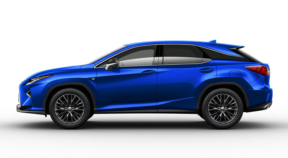 Lexus Heat Blue RX