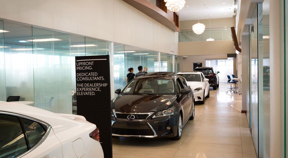 Lexus Plus Hallway