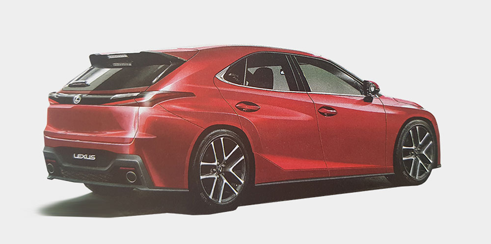 CT Successivo Front generazione di Lexus