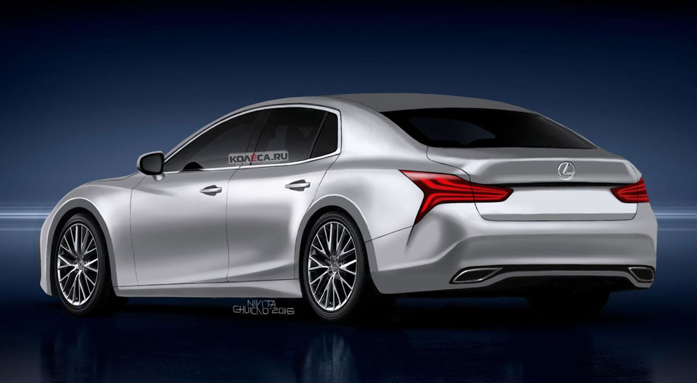Lexus LS Next-Generation Rear