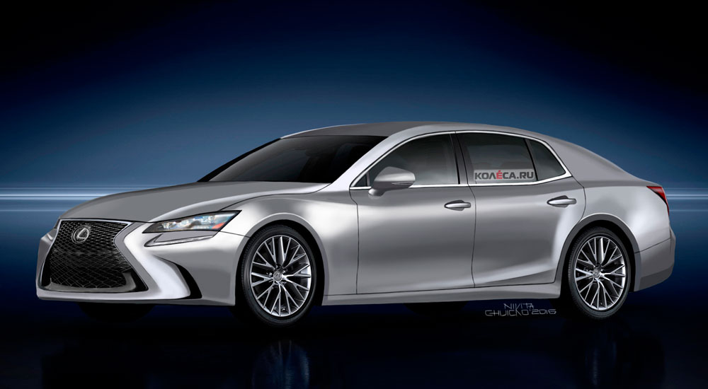 Lexus LS Next-Generation Rendering