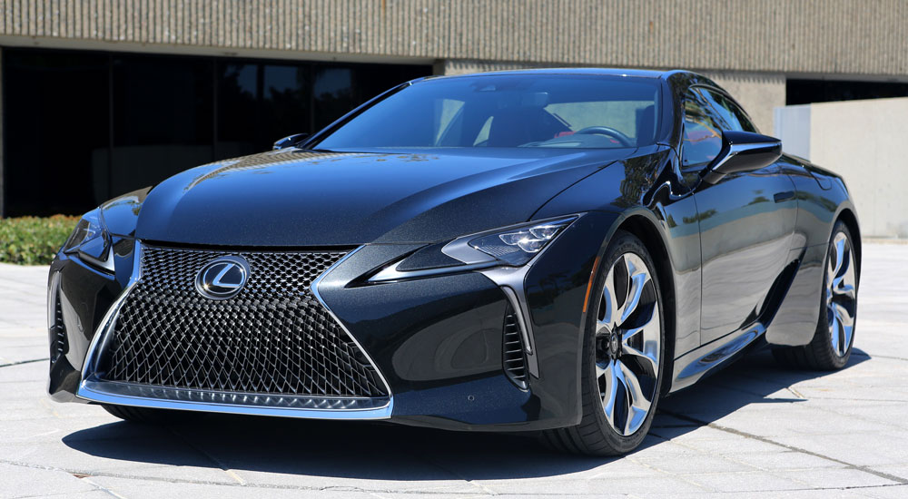 Lexus LC 500 Engine Boost