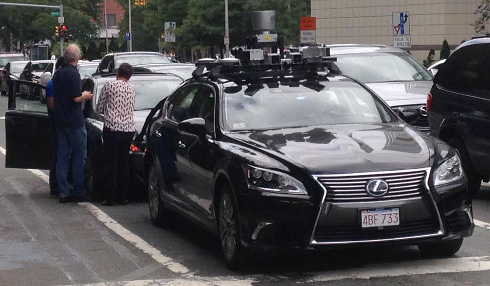 Lexus LS Autonomous Tech