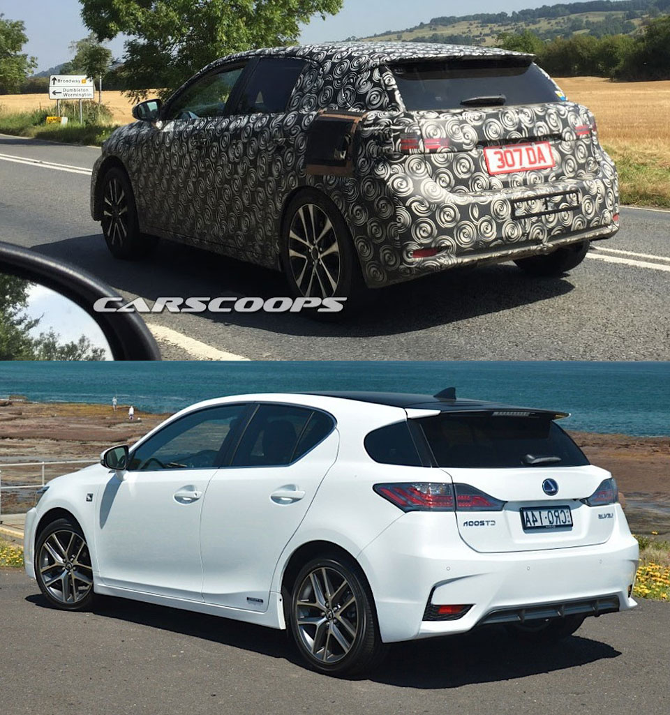 Lexus CT Prototype comparison alternative