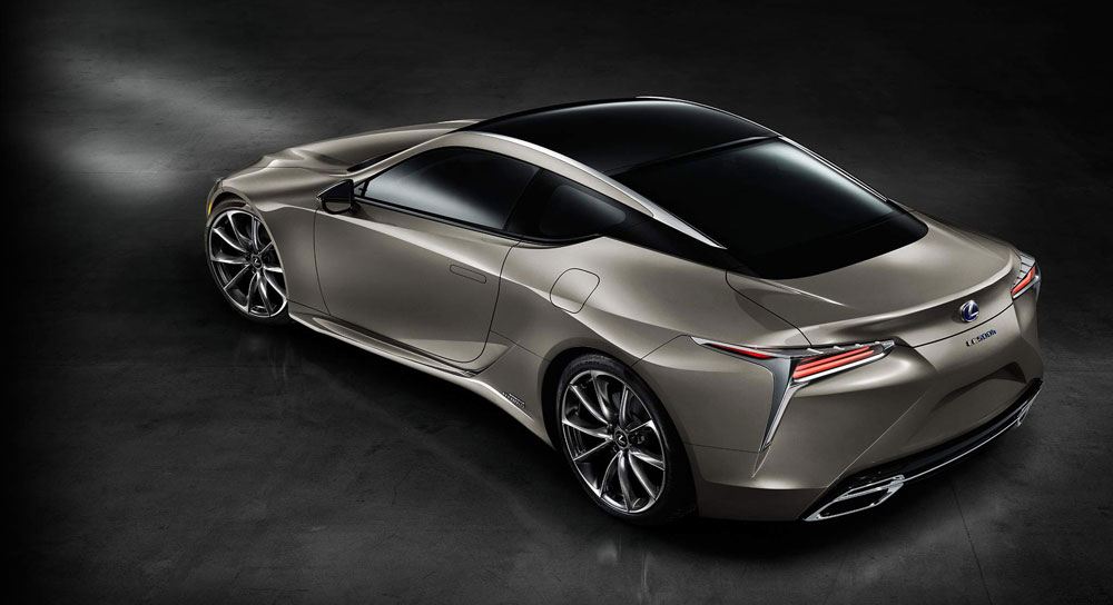 Lexus LC in Atomic Silver