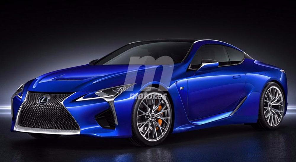 Lexus LC F Motores Front
