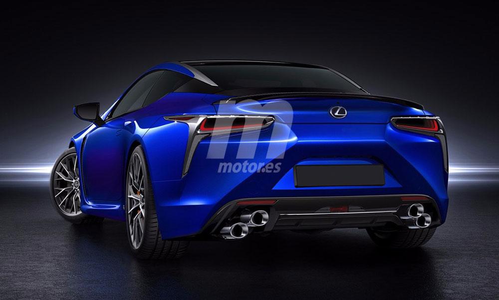 Lexus LC F Motores Rear