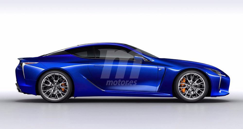 Lexus LC F Motores Side