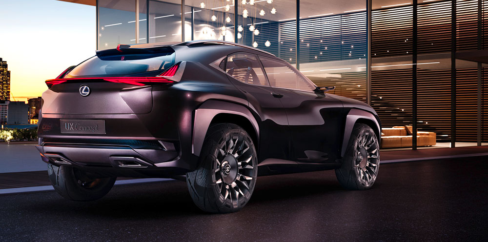 Lexus UX Concept Closer