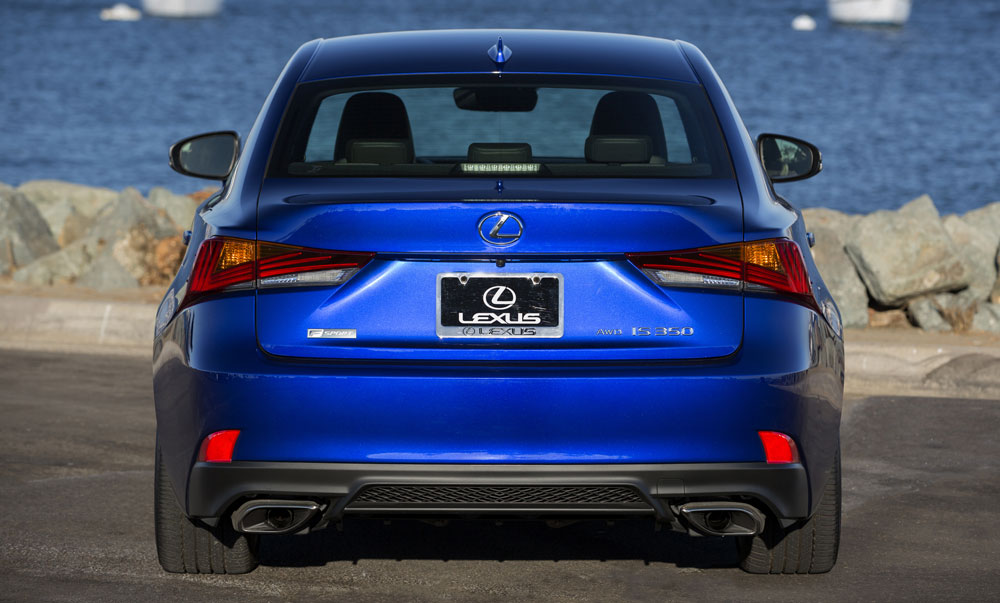 Lexus IS 2017 F SPORT Rear