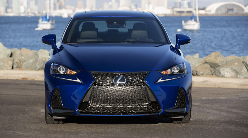 lexus is f sport 2017 front. Black Bedroom Furniture Sets. Home Design Ideas