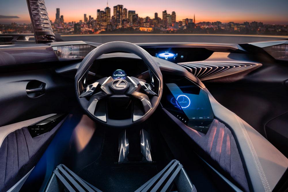 Lexus UX Concept Interior Full
