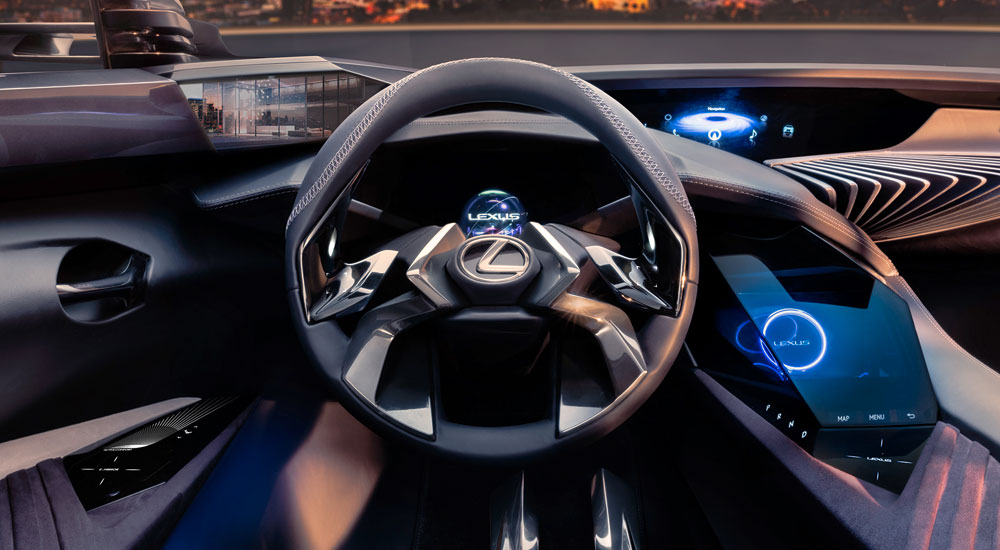auto buzz lexus ux crossover concept interior revealed. Black Bedroom Furniture Sets. Home Design Ideas