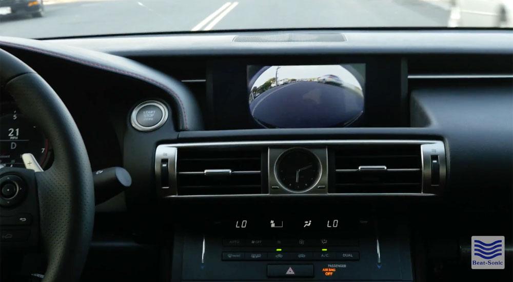 Lexus Front Camera Beat-Sonic