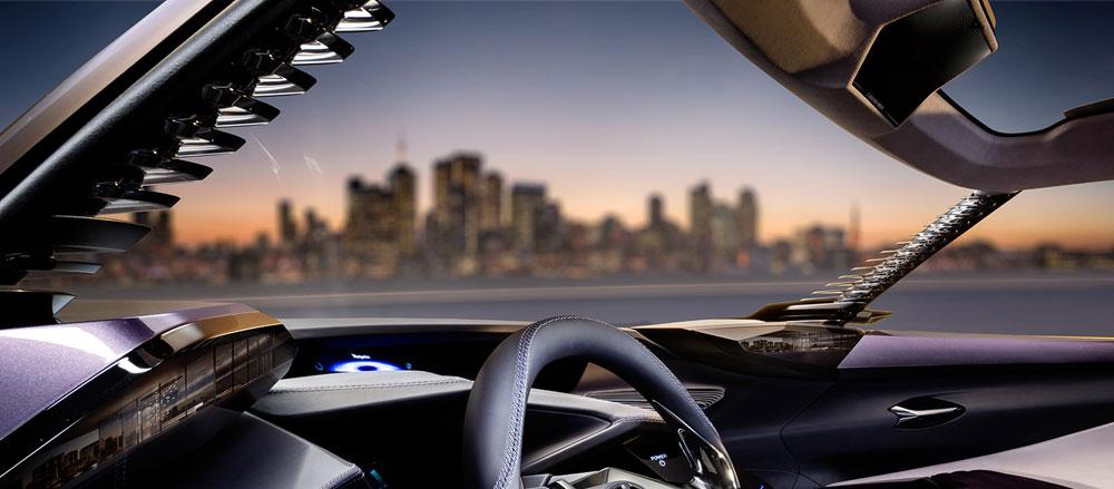 Lexus UX A-Pillar