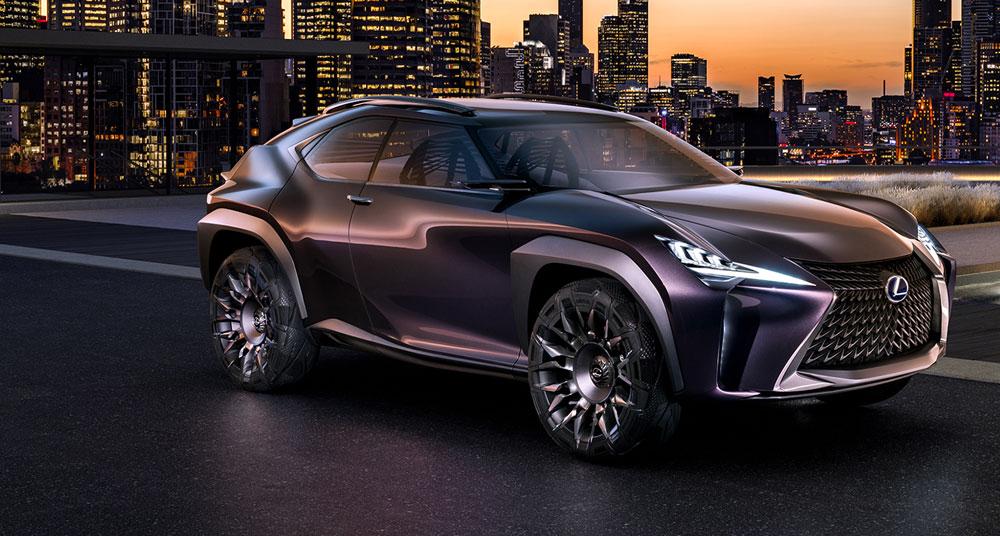 Lexus UX Concept Front
