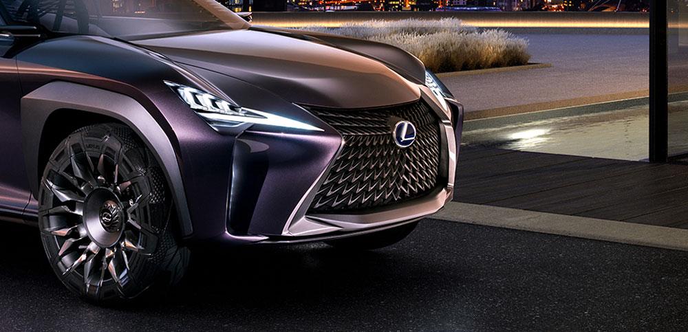 Lexus UX Headlights