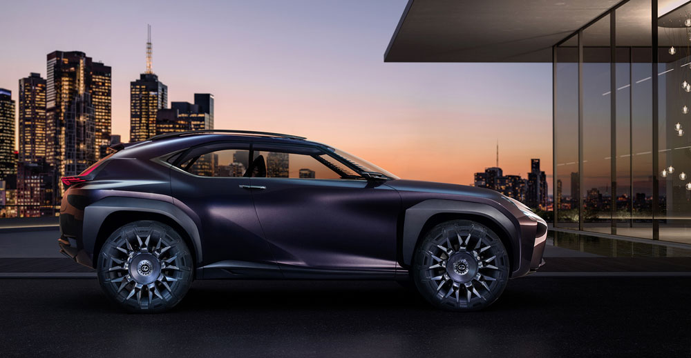 Lexus UX Side Profile