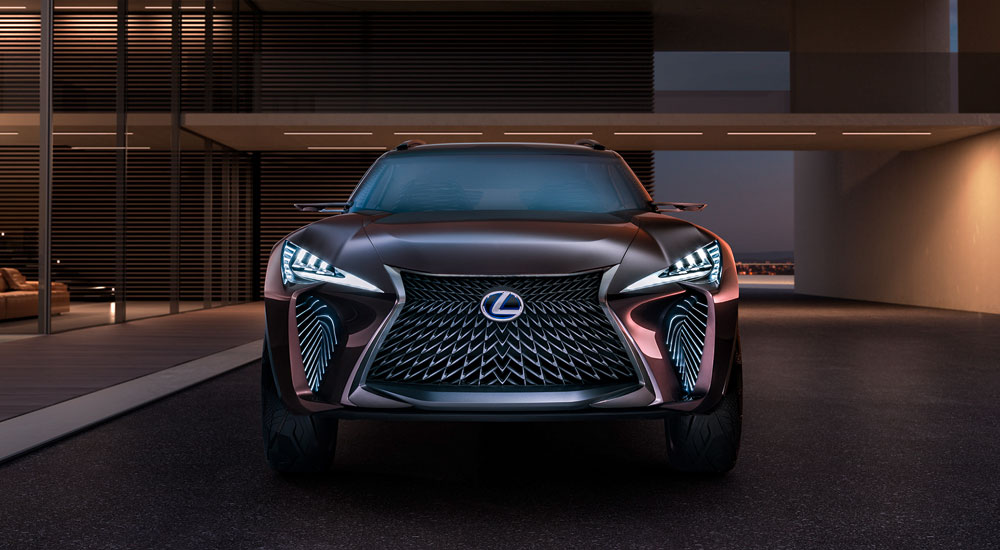Full Details On The Lexus Ux Crossover Concept Lexus Enthusiast