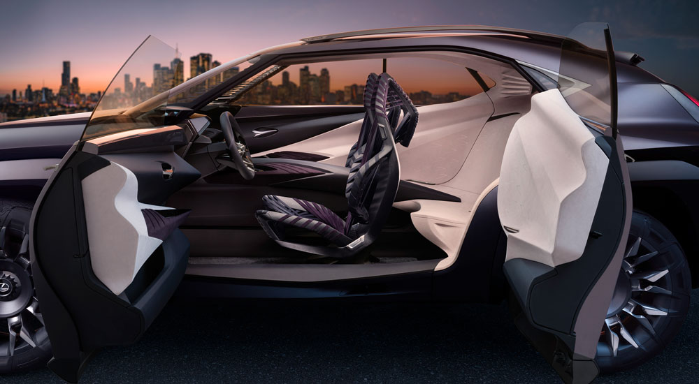 Lexus UX Inside Out