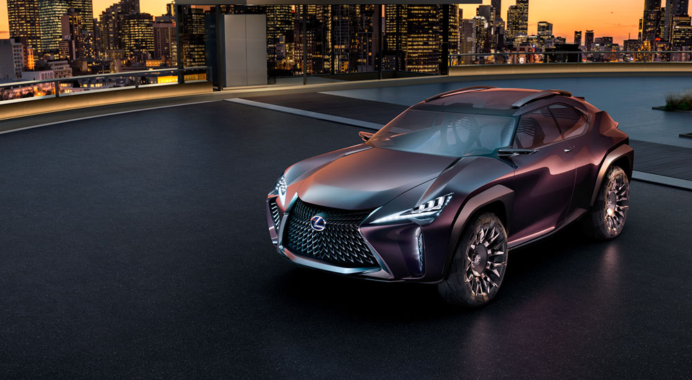 Lexus UX Other Side