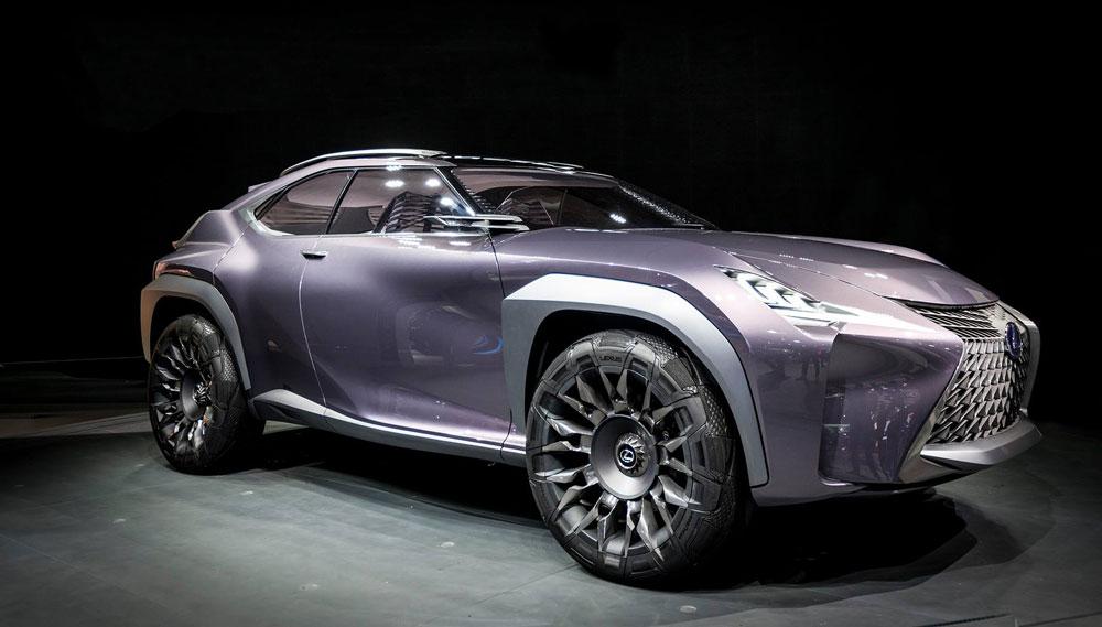 Lexus UX Live Photos