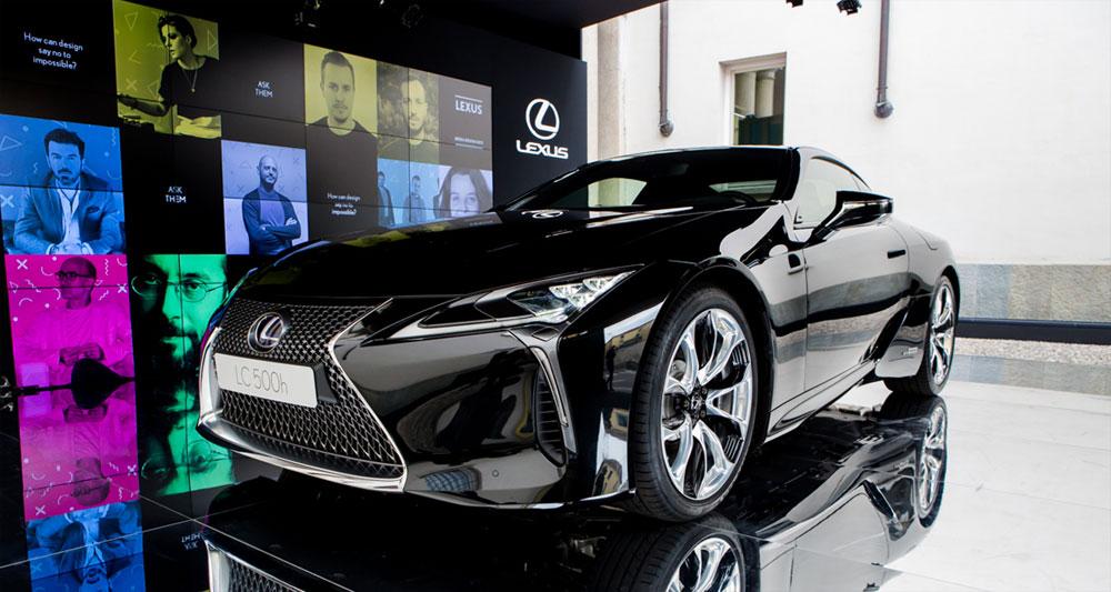 Lexus LC 500h Black