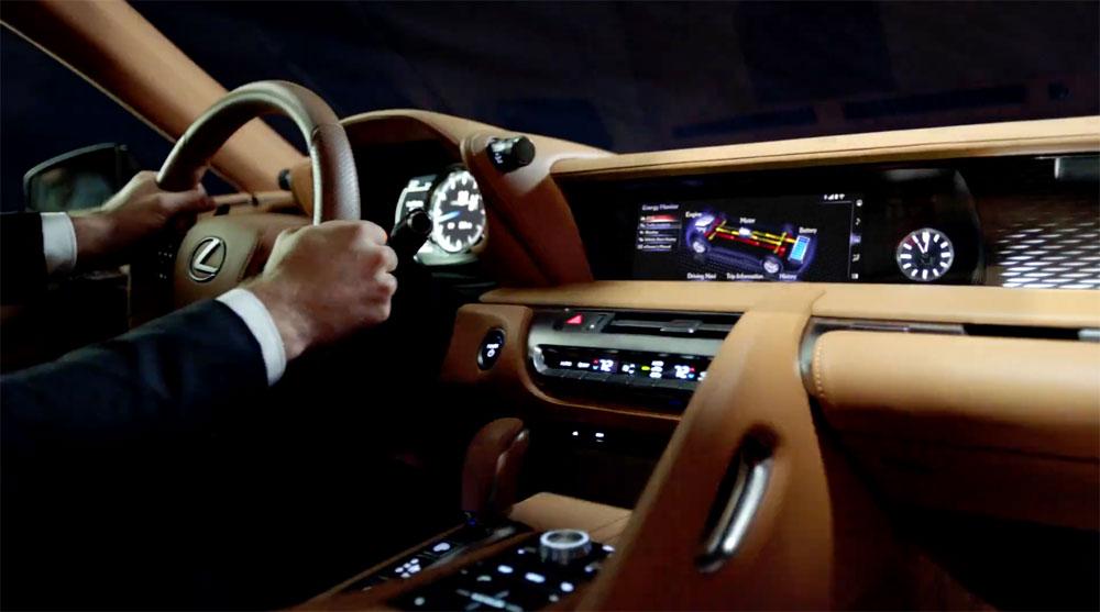 Lexus LC Hybrid Interior