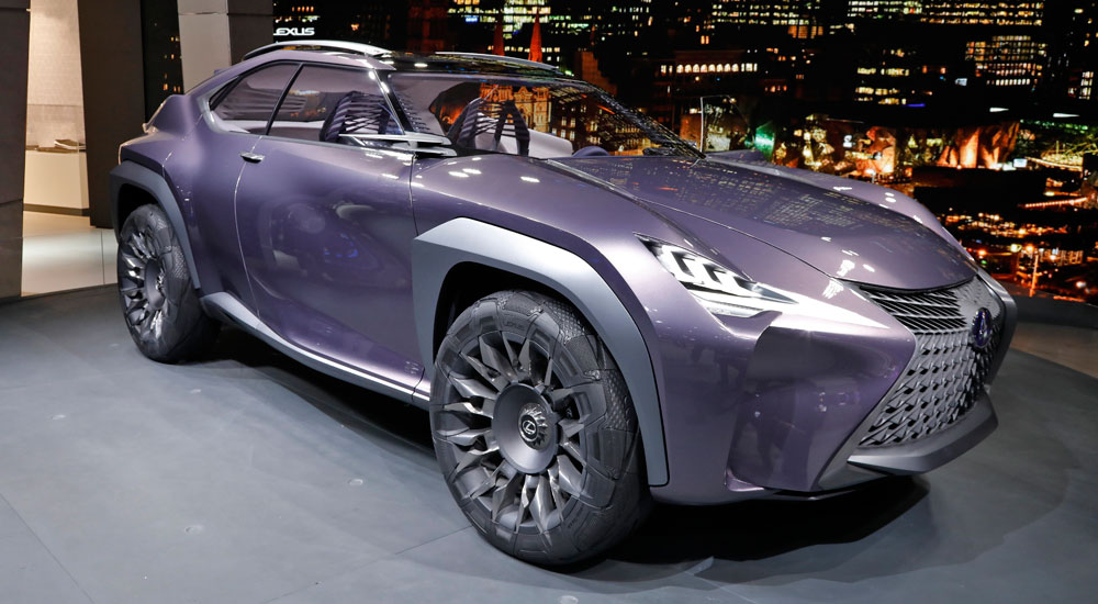 One of the standout features of the Lexus UX crossover concept is the ... Lexus Enthusiast