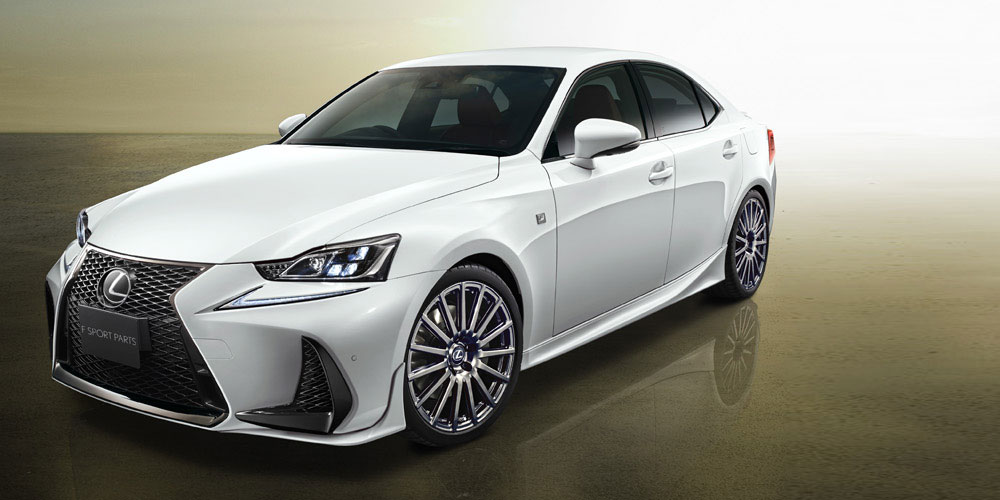 Trd Japan Releases Body Kit For Updated 2017 Lexus Is F Sport