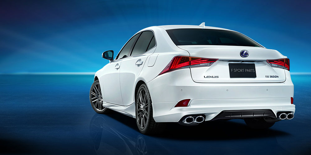 Lexus IS Modellista 2017 Rear
