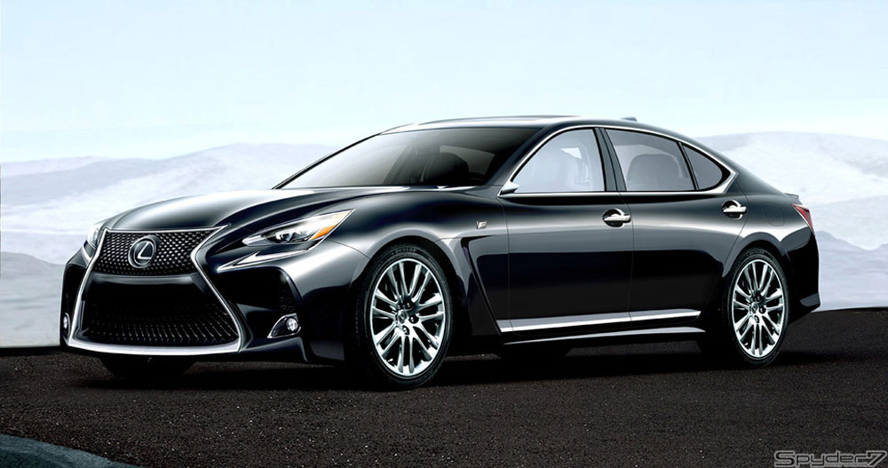 Rumor Lexus Ls F Coming In 2018 Lexus Enthusiast