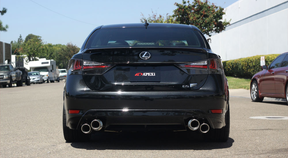 Lexus GS F APEXI Exhaust