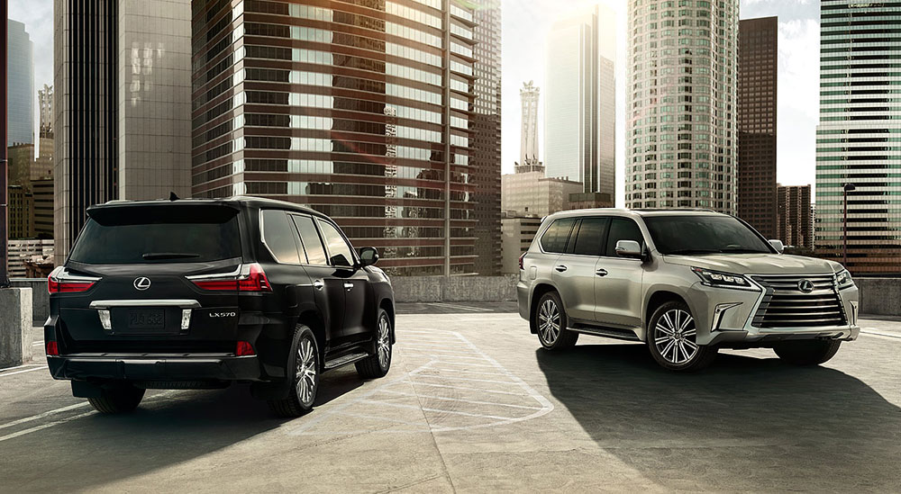 Lexus LX Sales Report