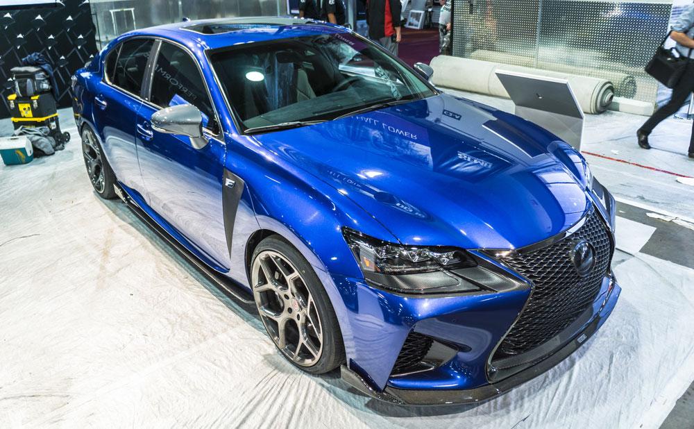 Lexus GS F SEMA Galleries