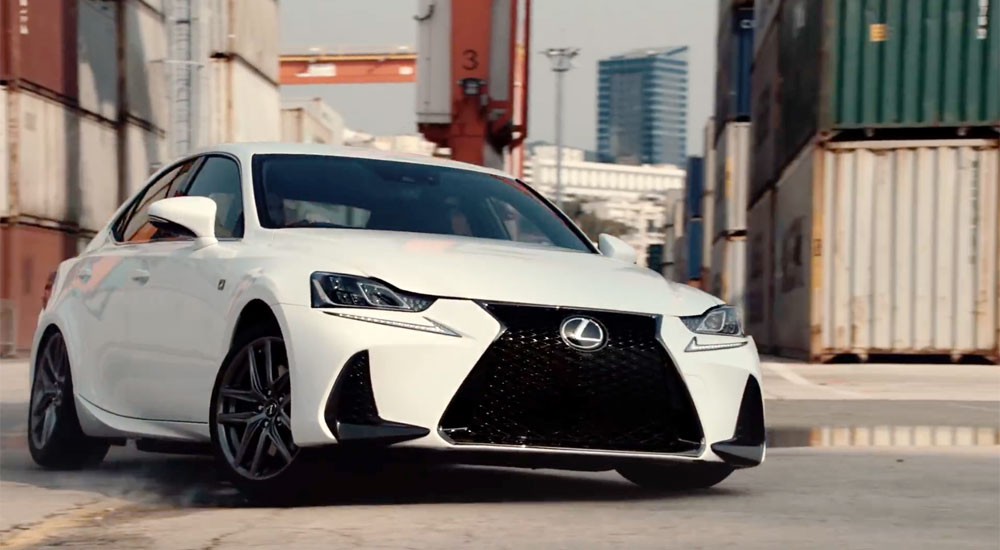 Lexus IS Commercial Japan