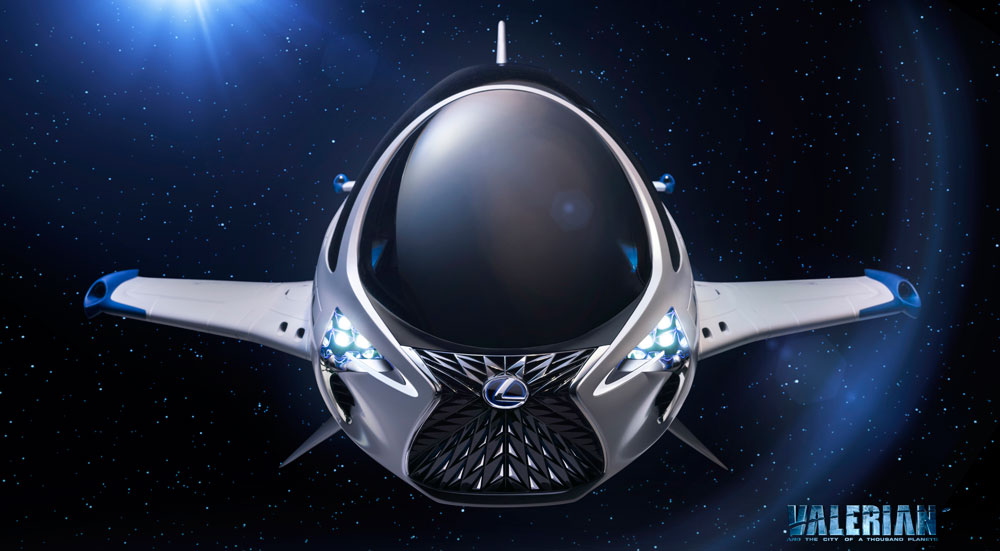 Lexus Spaceship To Feature In New Sci Fi Movie From Luc Besson