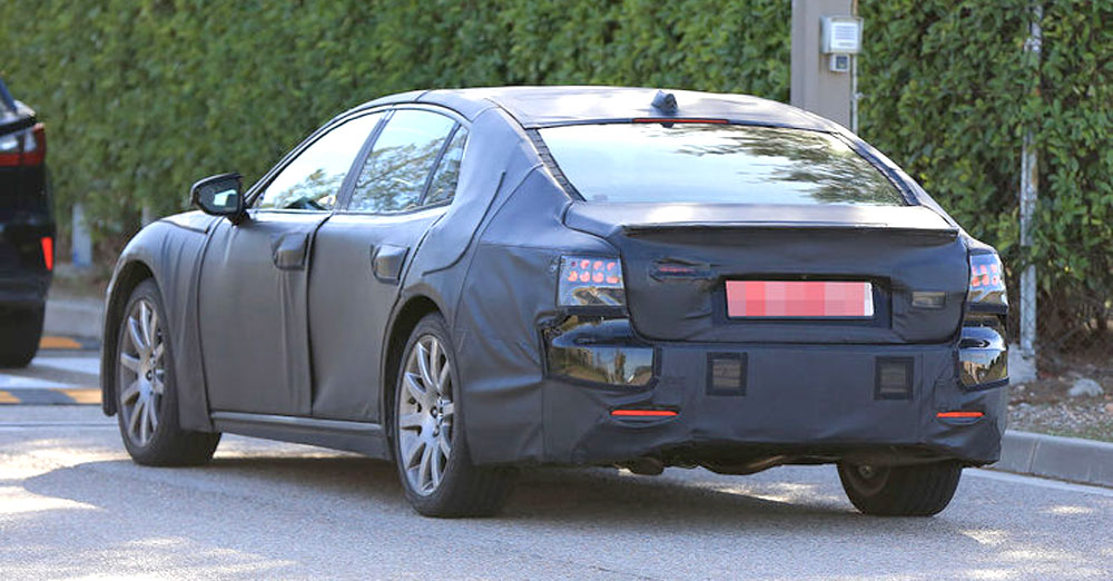 Lexus LS Prototype Rear