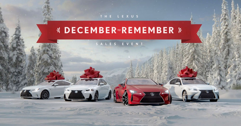 Lexus 2016 December to Remember Commercials | Lexus Enthusiast