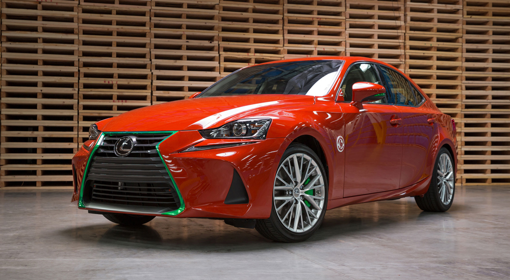 Lexus Sriracha IS