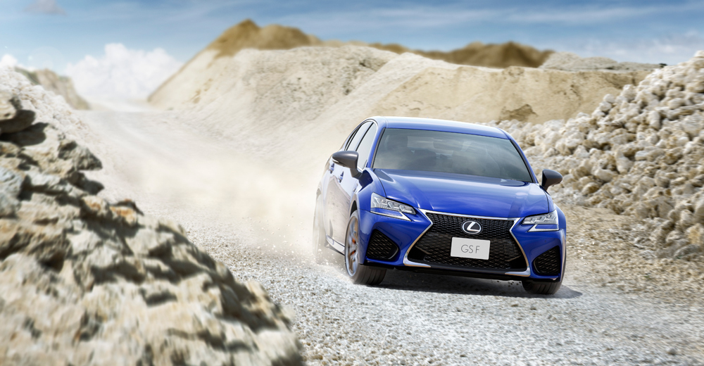 Lexus GS F Dirt Track