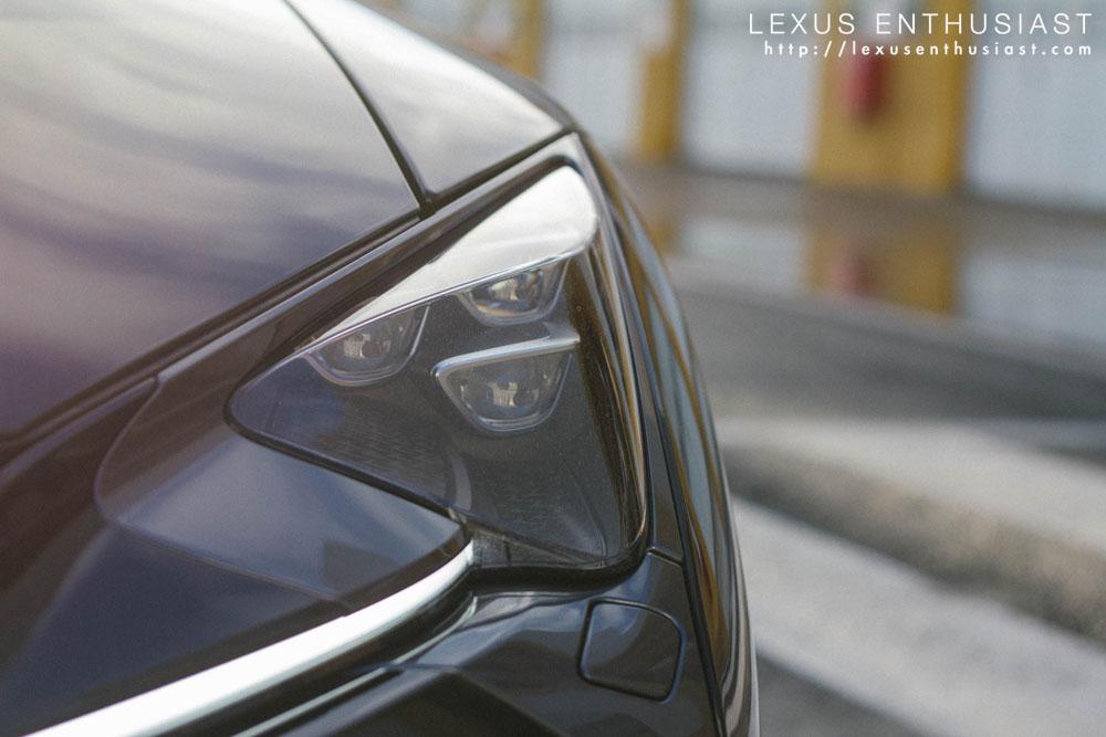 Lexus LC Headlight