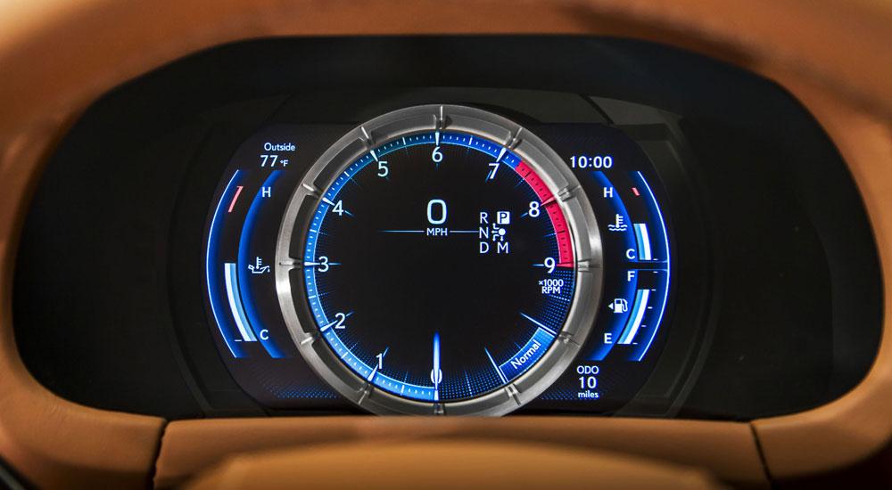 Lexus Adaptive Meter