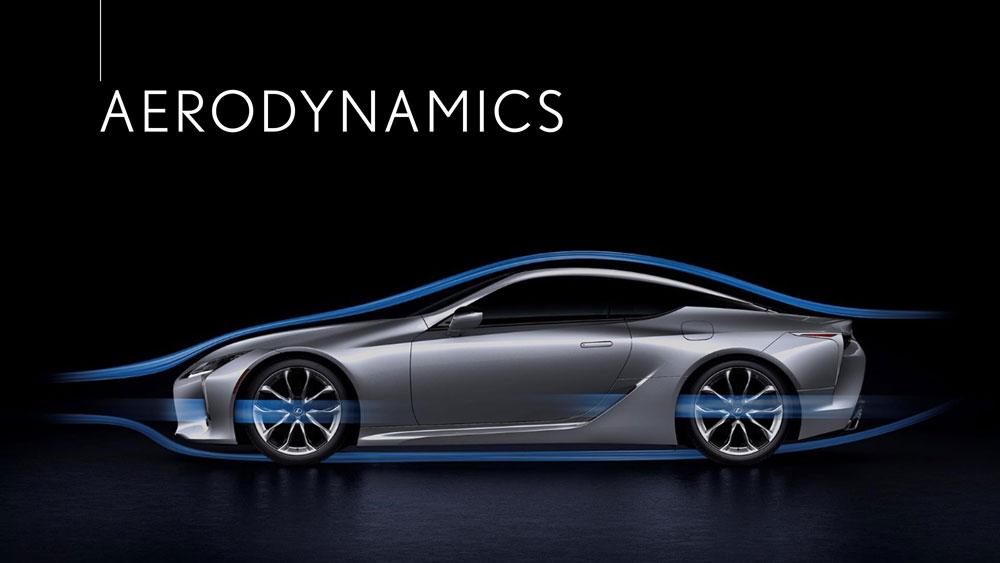 Lexus LC Aerodynamics