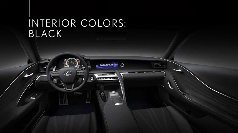 2019 Lexus Lc 500 Preview >> Lexus LC Black Interior