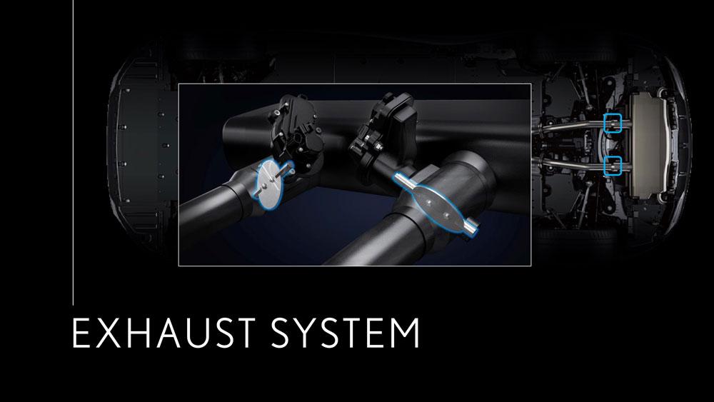 Lexus LC Exhaust System