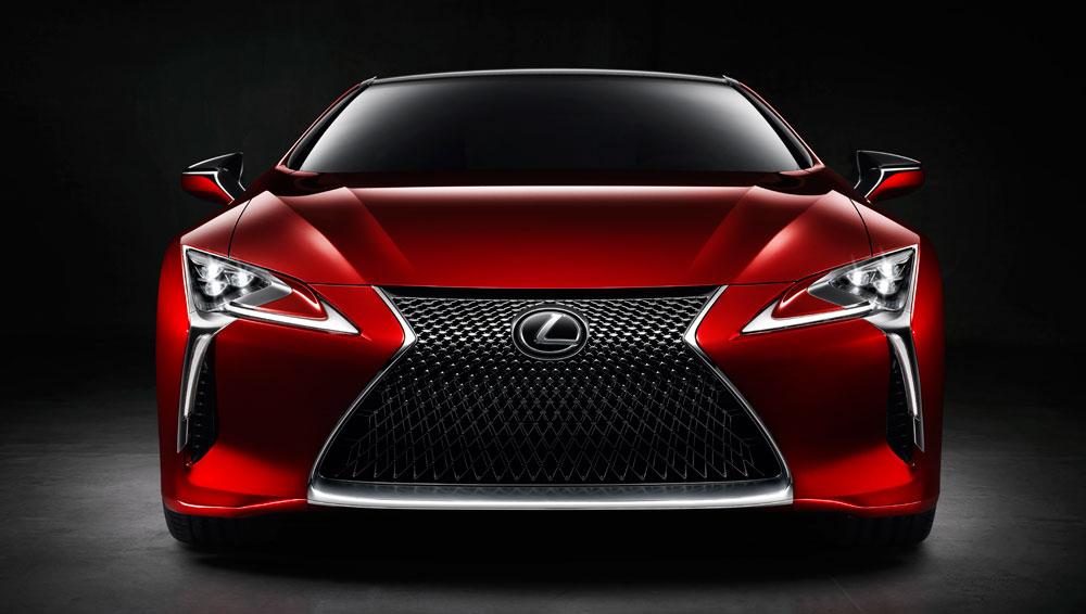 Lexus LC Front