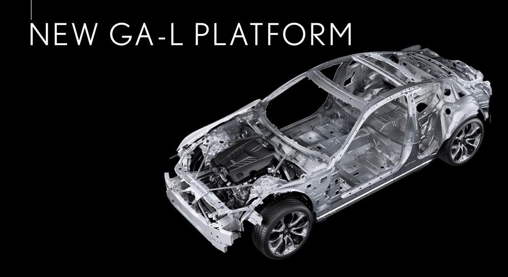 Lexus GA-L Platform