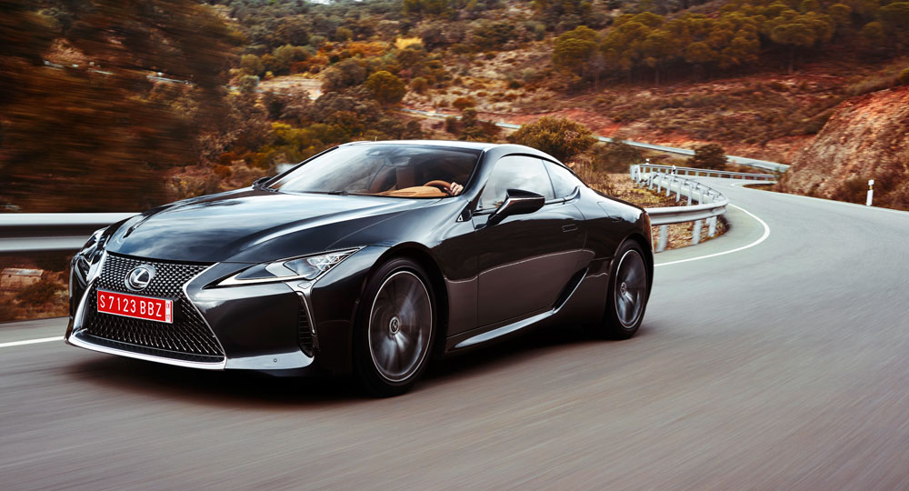 2018 Lexus Lc 500 500h Preview